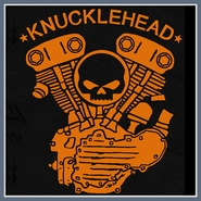 Knucklehead Engine T Shirt Harley Davidson Motorcycle Tee Shirts