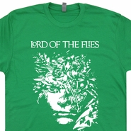 Lord Of The Flies T Shirt Vintage Cool Writer Book Geek Nerd Shirts