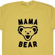 Mama Bear T Shirt Vintage Grateful Dead T Shirt Dancing Bears T Shirt