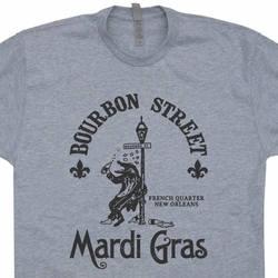 Mardi Gras T Shirt Vintage New Orleans Shirt Funny Beer T Shirts