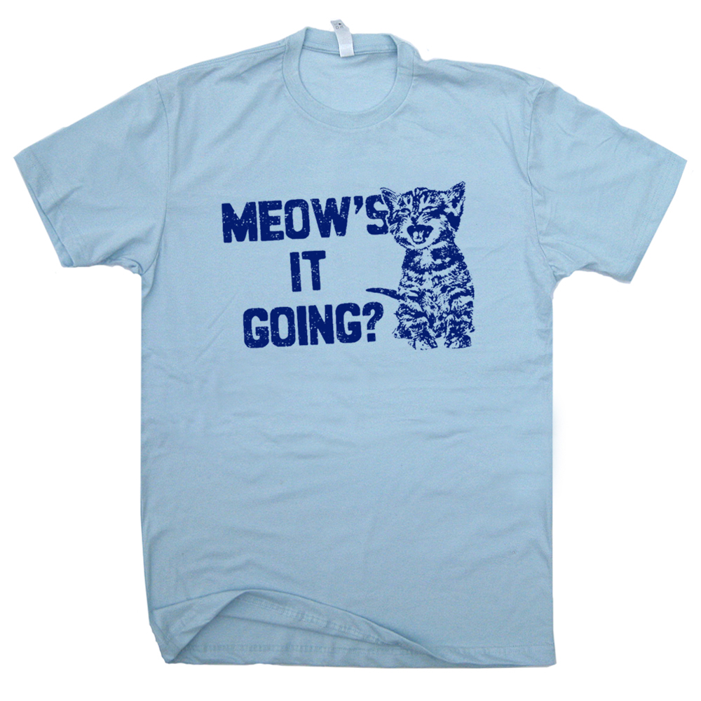 Funny Cat T Shirts For Guys