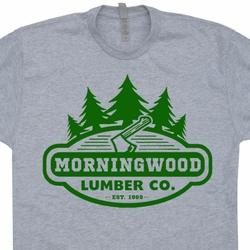 Morningwood Lumber Company T Shirt Funny Offensive Rude Sexual Shirts