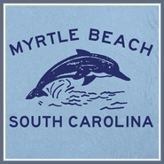 Myrtle Beach T Shirt Eastbound and Down Dolphin Funny Tee