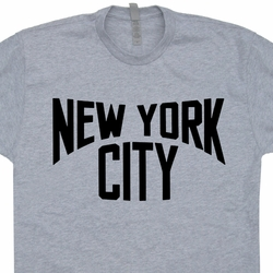 New York City T Shirt Vintage NYC The Beatles John Lennon Tee Shirts