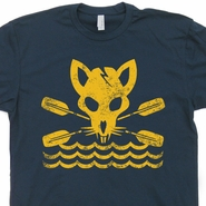 River Rat T Shirt Canoe Canoeing Shirts Kayak Kayaking Shirts Hiking Camping