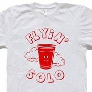 Solo Cup Funny Beer T Shirt Keg Retro Party Tee Flip Cup Beer Pong Tee