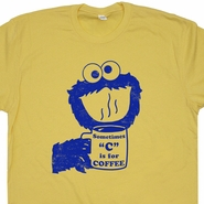 Sometimes C Is For Coffee T Shirt Cookie Monster Vintage T Shirt