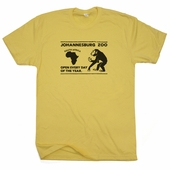 South Africa Vintage Zoo T Shirt Monkey Tee Gorilla Circus Ape Retro