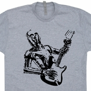 Star Wars C3PO Guitar T Shirts Electric Taylor Gibson Banksy Shirts