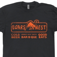 The Boars Nest T Shirt Vintage Dukes of Hazzard Shirts Hazard Funny TV 80s Tees