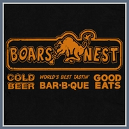The Boars Nest T Shirt Dukes of Hazzard Bar BBQ Beer Tee