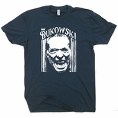 The Charles Bukowski T Shirt The Shining Hank Vintage Soft T Shirt