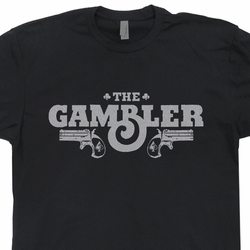 The Gambler T Shirt World Series of Poker Vintage Kenny Rogers Tee Shirts