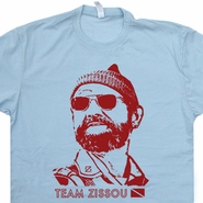 The Life Aquatic T Shirt Bill Murray Scuba Diving Team Zissou Tee