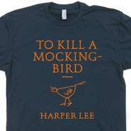 To Kill a Mockingbird T Shirt Vintage Literature Shirts Lawyer Attorney Tee Shirts