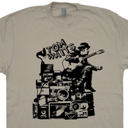 Tom Waits T Shirt Vintage Rock Concert Cool Nick Cave Tee Shirts
