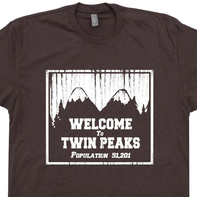twin peaks t shirt david lynch t shirts 80s tv tees