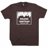 Twin Peaks T Shirt Vintage TV 80s Tees David Lynch Shirts