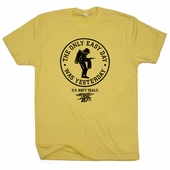 US Navy Seals T Shirts The Only Easy Day Was Yesterday Scuba Marines Tee Shirt