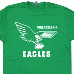 Vintage Philadelphia Eagles T Shirts Throwback jersey Retro Eagles Tee