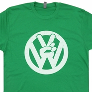 Volkswagen T SHIRT Vintage VW Tee Bus Bug Peace Thing Tee
