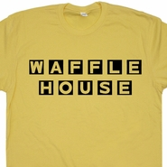 Waffle House T Shirt Vintage Beer T Shirts Funny Drinking Drunk Tee Shirt