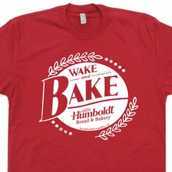 Wake and Bake T Shirt Marijuana Bread Company Widespread Panic Grateful Dead Shirts