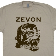 Warren Zevon T Shirt Werewolves of London Vintage Rock Phish Shirts