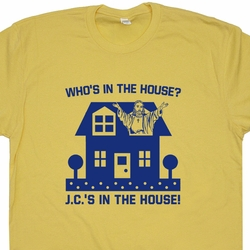 Who's In The House Jesus T Shirt Cool Christian T Shirts
