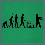 Zombie Evolution T Shirt The Walking Dead Funny Tee