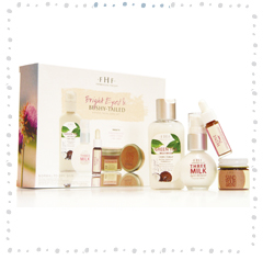 Bright Eyed & Bushy Tailed 4-Piece Facial Starter Set