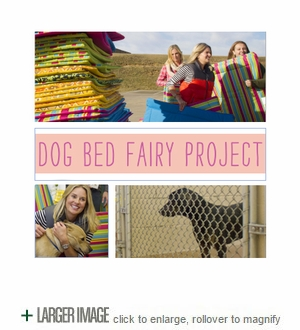 Dog Bed Fairy Project