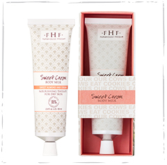 Sweet Cream Body Milk Travel Lotion