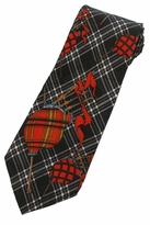 Bagpipes Tie