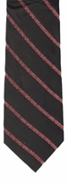 Black Christmas Stripe Ties