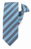 Blue East Coast Stripe Clip on Ties