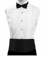 Boy's Cummerbund & Bowtie Set - Black