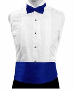 Boy's Cummerbund & Bowtie Set - Royal Blue
