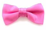 Boy's Hot Pink Band Bowties