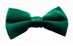 Boy's Hunter Green Band Bowties