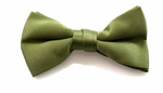 Boy's Light Olive Band Bowties