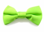 Boy's Lime Green Band Bowties