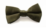 Boy's Olive Band Bowties