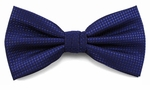 Boy's Royal Blue Woven Like Band Bow Tie