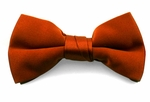 Boy's Rust Band Bowties