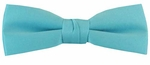 Boy's True Turquoise Band Bowtie