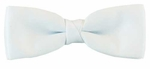 Boy's White Band Bowtie