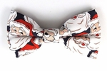 Boys Jolly Santa Band Bow Tie