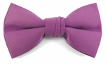 Boys Orchid Purple Band Bow Tie