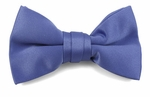 Boys Steel Blue Band Bow Tie